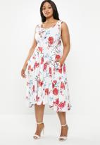 AMANDA LAIRD CHERRY - Plus size simosihle dress - multi