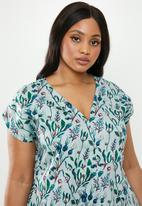AMANDA LAIRD CHERRY - Plus size nontathu dress - multi