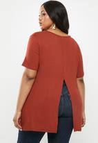Superbalist - Slit back longer length - rust