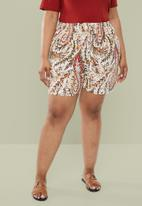 Superbalist - High waist soft shorts - multi