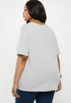Superbalist - Longer length tee - grey