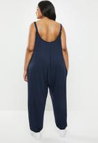 Superbalist - Easy fitting jumpsuit - navy