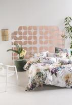 Linen House - Lena duvet cover set - violet