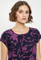 Vero Moda - Boca blouse - navy & pink
