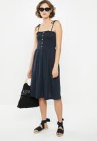 Vero Moda - Aria strappy dress - navy