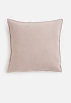 Hertex Fabrics - Linen blend cushion cover - cameo
