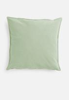 Hertex Fabrics - Linen blend cushion cover - hydro