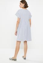 Superbalist - Knit babydoll dress - grey