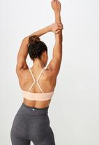 Cotton On - Workout yoga crop - pink