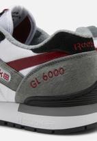 Reebok Classic - GL 6000 OG - cold grey / white / triathlon red