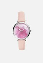 Fossil - Jacqueline blush leather jacqueline - pink