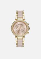 Michael Kors - Parker Chronograph-gold/pink