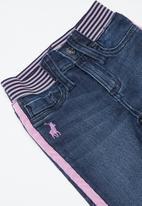 POLO - Girls Chelsea cropped jean - blue