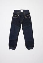 POP CANDY - Boys cuff jeans - blue