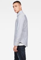 G-Star RAW - Brimstum slim shirts - blue & white