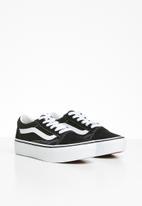 Vans - Uy old skool platform - black & white