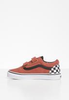 Vans - Uy old skool - red & white