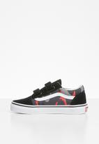 Vans - Uy old skool - black & red