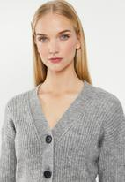 Cotton On - Luxe cropped cardigan - grey
