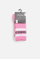 Converse - Converse basic wordmark crew 3 pack socks - multi