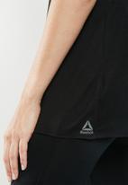Reebok - Reebok muscle sleeveless tee - black