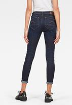 G-Star RAW - Arc 3d mid skinny jeans - navy