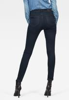 G-Star RAW - G-star shape high super skinny jeans - navy