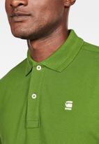 G-Star RAW - Dunda slim polo - green
