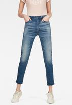 G-Star RAW - 3301 rp high straight ankle - blue
