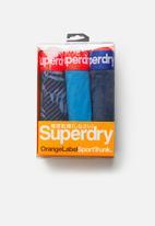 Superdry. - Sport 3 pack trunks - multi