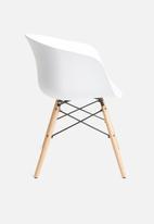 Sixth Floor - Bea chair - white