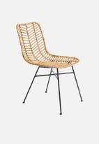 Sixth Floor - Rattan dining chair - natural