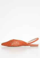 Superbalist - Lyla slingback pump - orange