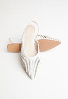 Superbalist - Lyla slingback pump - white