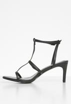 Superbalist - Gina barely there heel - black