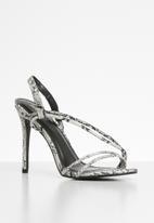 Superbalist - Tamara heel - black & white