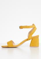 Superbalist - Melissa block heel - yellow