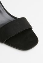 Superbalist - Melissa block heel - black