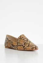 edit - Jessica loafer - brown & beige