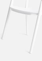 Sixth Floor - Luna chair - white