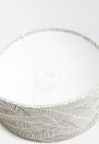 Sixth Floor - Fossil lampshade - charcoal