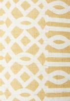 Sixth Floor - Paternoster lampshade - mustard