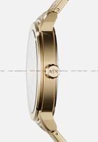 Armani Exchange - Analog watch 0 jwl gp metal bracelet - gold