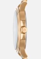 Michael Kors - Analog watch 0 jwl gp metal bracelet - gold