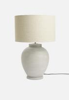 Sixth Floor - Barrel lampshade - natural