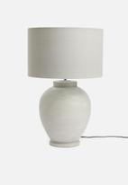 Sixth Floor - Barrel lampshade - grey