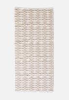 Sixth Floor - Marcie jute runner - natural & white