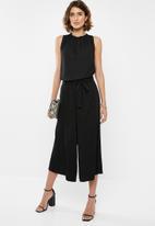 edit - Paperbag culotte - black