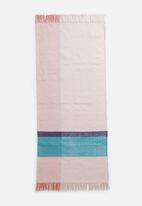 Sixth Floor - Basil colour block woven runner - multi