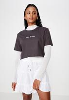 Factorie - Tiered skirt - white
